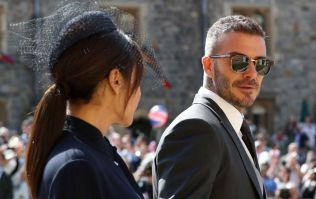 Most sane people are in agreement that David Beckham looked very well today