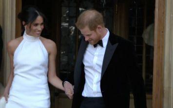 Boohoo has a FAB €24 version of Meghan's second wedding dress