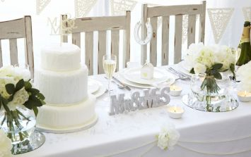 Dealz have a new wedding range that will make planning your big day a dream