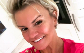 Kerry Katona is under fire over 'nudity' in her latest Instagram photo