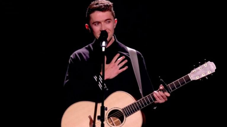 The unexpected message delivered at the end of Ryan's performance was powerful
