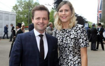 Dec Donnelly and his wife celebrated their anniversary in the sweetest way