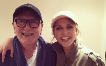 Amy Huberman's sweet birthday post about her dad will make you feel things
