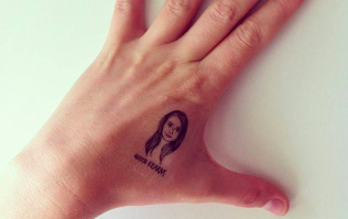 You can now get your best friend's face temporarily tattooed on your body
