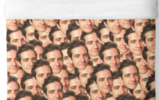 You can now get a duvet cover with your best friend's face all over it