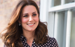 So this is the €50 ZARA dress Kate Middleton wore at the Houghton horse trials yesterday