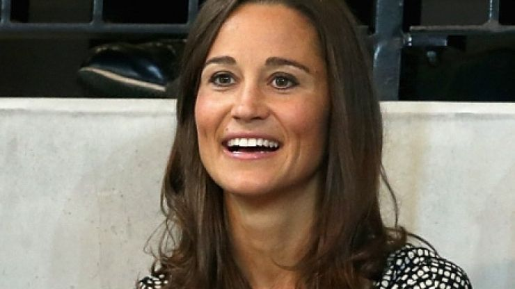 Pippa Middleton's baby bump just visible as she steps out in Paris