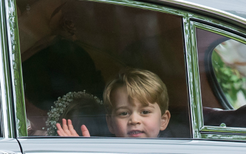 The adorable Prince George moment we missed at the royal wedding