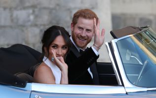 One joke was 'banned' from the speeches at the royal wedding afters