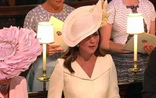 Can we take a minute for Kate Middleton's sassy side eye at yesterday's royal wedding?