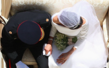 Royal photographer reveals how he captured this image of Meghan and Harry from above