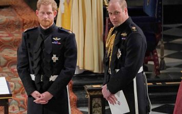 Here's what William said to Harry before Meghan walked down the aisle