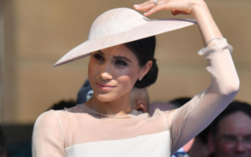 We've found where Meghan got her dress for her first outing as a married woman