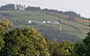 Group that placed the giant 'No' sign in the Dublin mountains release statement