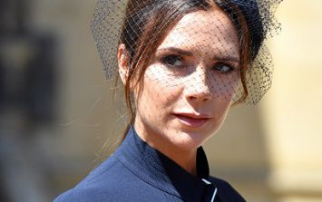 Turns out Victoria Beckham wasn't pissed off at the royal wedding... She was relieved