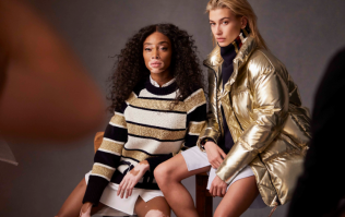 Hailey Baldwin and Winnie Harlow are teaming up with Tommy Hilfiger; both look fierce