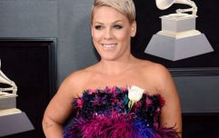 Pink has shown her support for the repeal the 8th campaign
