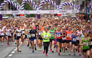 Something beautiful is waiting at the finish line at this year's Mini Marathon ladies!