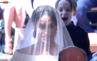 The story behind the page boy's reaction in THAT viral royal wedding photo is too cute