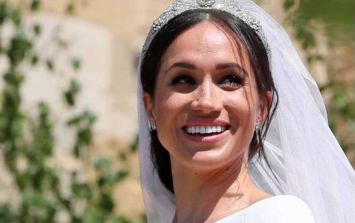 A LOT of *extreme* work went into making Meghan Markle's wedding veil