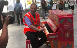 Dublin's Connolly Station has a brand new piano and it's just glorious