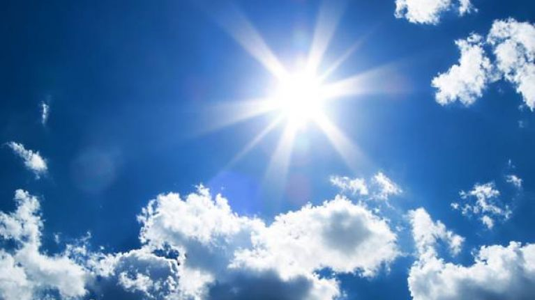 Met Eireann has issued a high-temperature weather warning for six counties