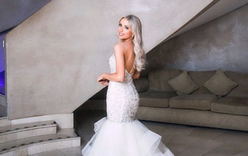 Rosie Connolly had TWO wedding dresses and the second is an absolute beaut