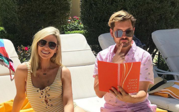 Pippa O'Connor's cute Zara swimsuit is going to get snapped up quickly
