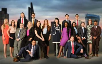 Two of last year's contestants on The Apprentice expecting their first child together
