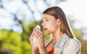 Met Éireann's pollen forecast this weekend is very grim for hay fever sufferers