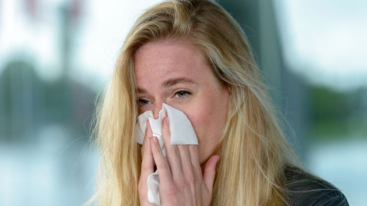 Having sex could alleviate hay fever, according to experts