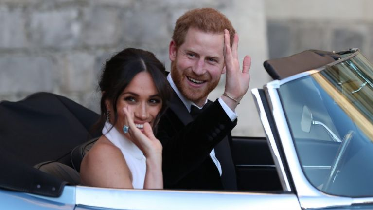 You can now buy a Stella McCartney replica of Meghan Markle's second wedding dress