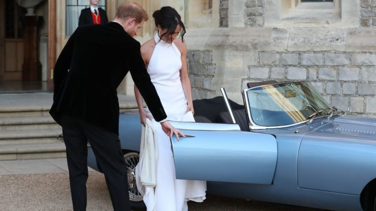 Stella McCartney reveals why Meghan asked her to make her second wedding dress
