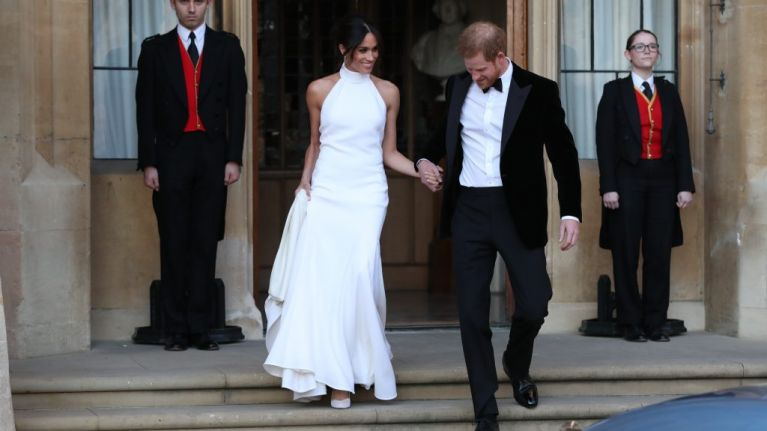 Stella McCartney has launched a line of wedding dresses just like Meghan's reception dress