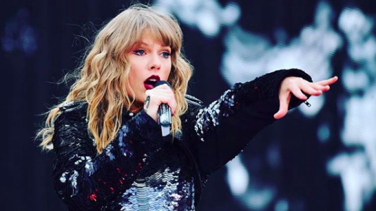 Taylor Swift made history at her Croke Park gig last night
