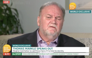Thomas Markle says he told Harry he could marry Meghan on one condition