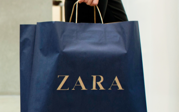 This €20 Zara dress comes in THREE colours and of course we want them all