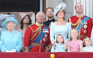 Princess Charlotte fell on the balcony yesterday and Kate looked like SuperMom