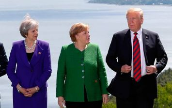 This photo from the G7 summit sums up everything about Donald Trump and politics