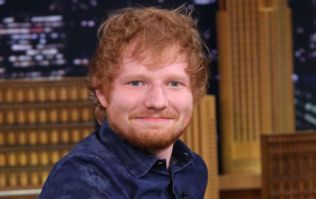 Ed Sheeran's wax figure has just been revealed and it's a bit disturbing
