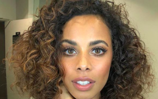 This €40 New Look dress spotted on Rochelle Humes is absolutely stunning