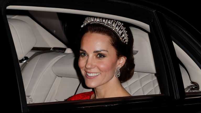 Kate Middleton made a very touching tribute to Princess Diana at last night's state dinner