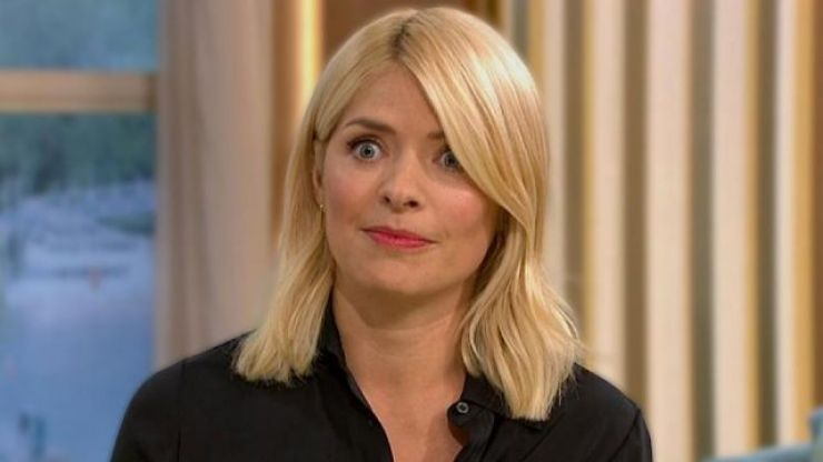 The dress that Holly Willoughby wore this morning is getting very mixed reactions