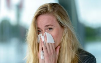 There's some good news FINALLY on the way for hay fever sufferers