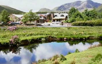 This GORGE Alpine-worthy spa is actually on the Wild Atlantic Way and we're going