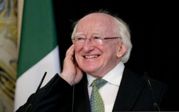 President Michael D. Higgins informs the government he wants to run again