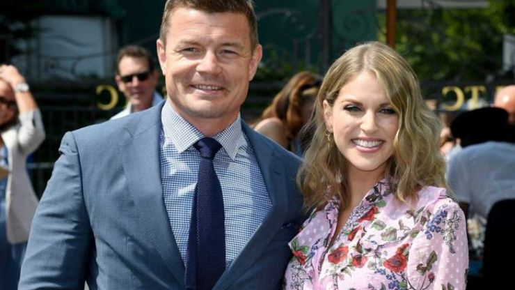 Stunning! Amy Huberman chose an Asos-stocked label for her day at Wimbledon
