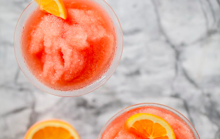 These Aperol spritz slushies are the only think we want to drink this weekend