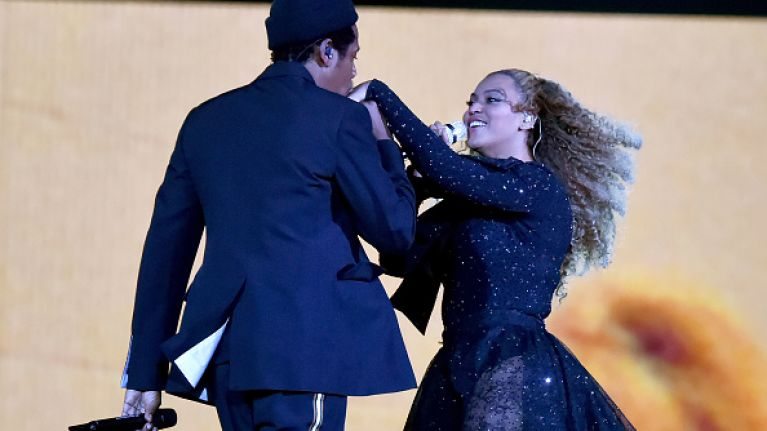 Beyoncé had to be rescued on stage this weekend and it was intense