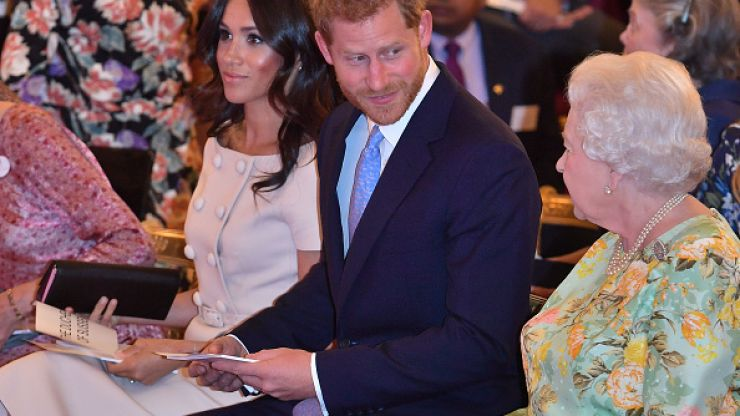 Royal fans are convinced that the Queen is showing behind-the-scenes support for Meghan & Harry
